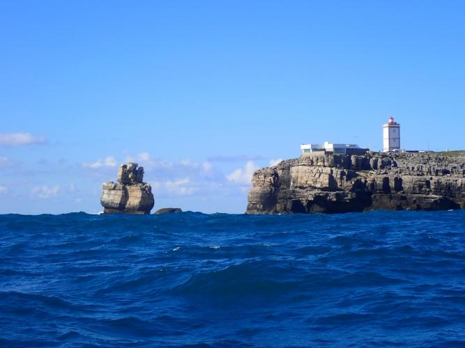 15nm to get round Peniche headland. Useful day.