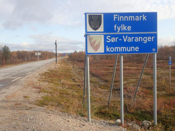 Crossing from Finland to Norway (Finnmark)